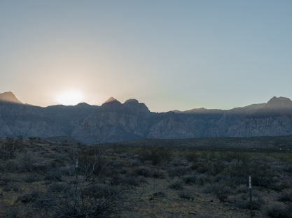 Nevada-Mountains-Light